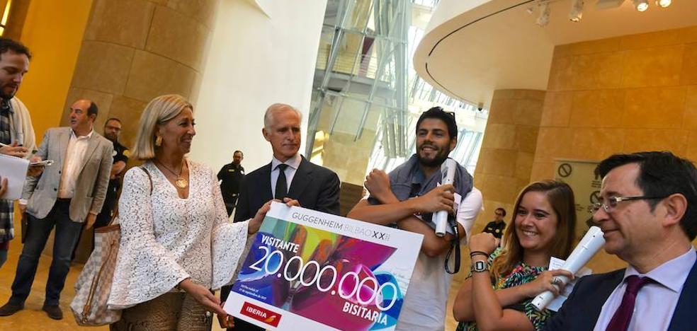 20 millones de visitantes en 20 años de Guggenheim