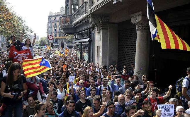 La Audiencia Nacional investigará si hubo sedición en los altercados de Barcelona