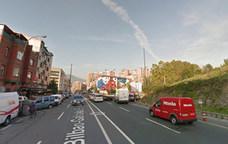 Atropellado en Bolueta al cruzar por una zona prohibida