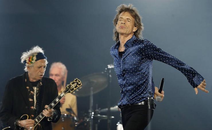 Los Stones mantienen la leyenda sigue viva ante 50.000 personas en Barcelona
