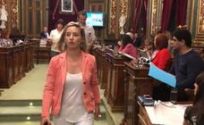 EH Bildu abandona el pleno de Bilbao para protestar por las medidas contra el 1-O