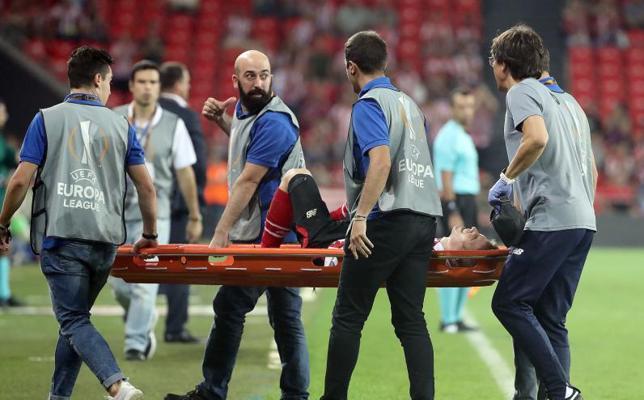 Muniain tiene roto el ligamento cruzado anterior de la rodilla derecha