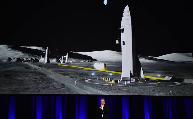 Elon Musk, fundador de SpaceX. /Afp
