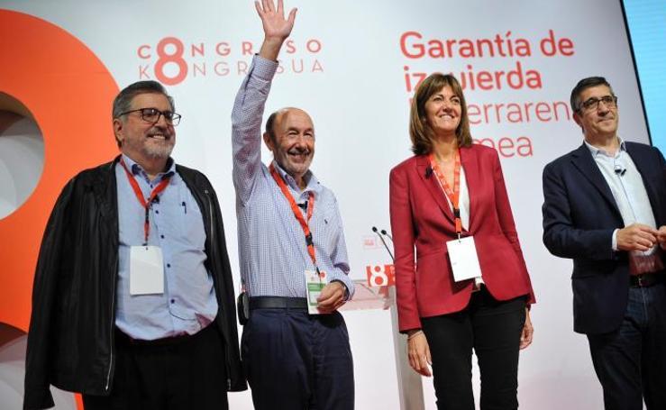 La nueva Ejecutiva del PSE de Idoia Mendia
