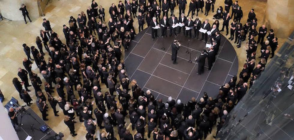 El Guggenheim empieza las celebraciones de sus 20 años con 500 amigos