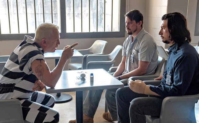 Channing Tatum y Adam Driver burlan al destino en la Nascar