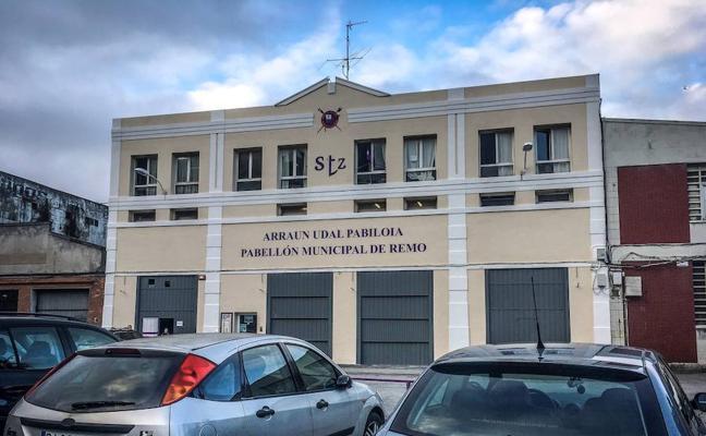 Santurtzi invierte 30.000 euros en la reforma del pabellón de remo