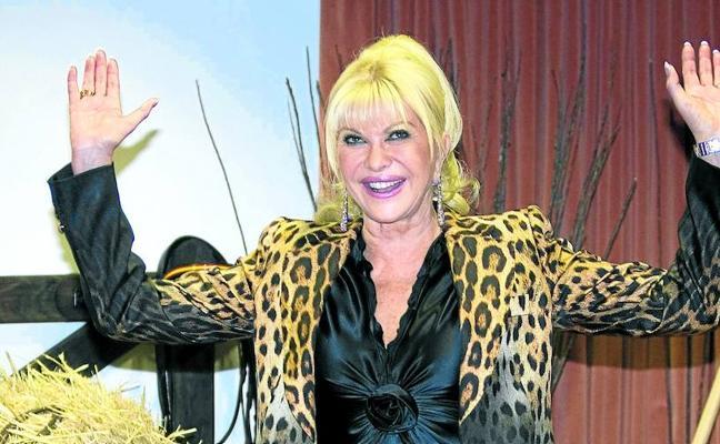 Ivana Trump ya no quiere ser embajadora en Chequia