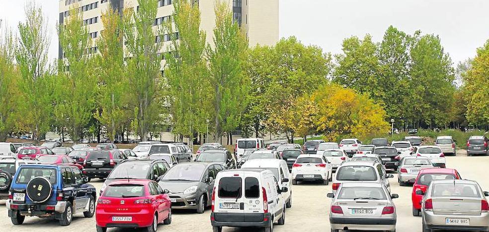 'Estrenan' el futuro aparcamiento del HUA en Vitoria antes incluso de que lo terminen