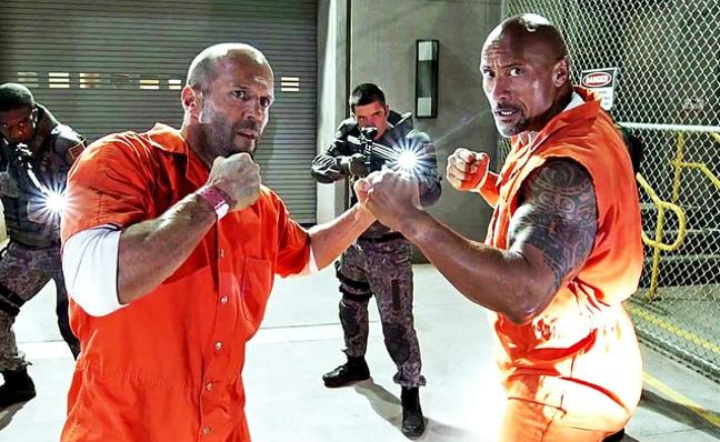 'Fast & Furious' tendrá 'spin off' con 'The Rock' y Jason Statham