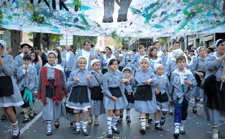 Basauri celebra sus fiestas por todo lo alto