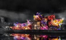 El espectáculo del Guggenheim afectará al tráfico durante cuatro días