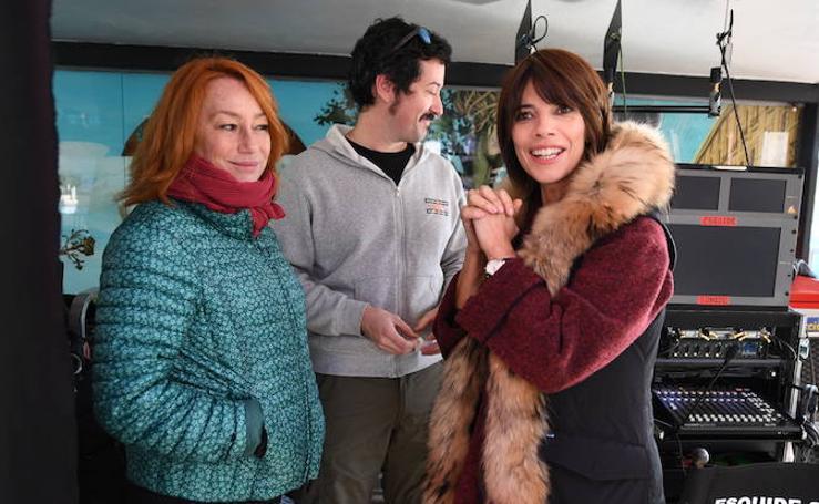 Las mejores imágenes del rodaje de Ola de Crímenes en Euskadi