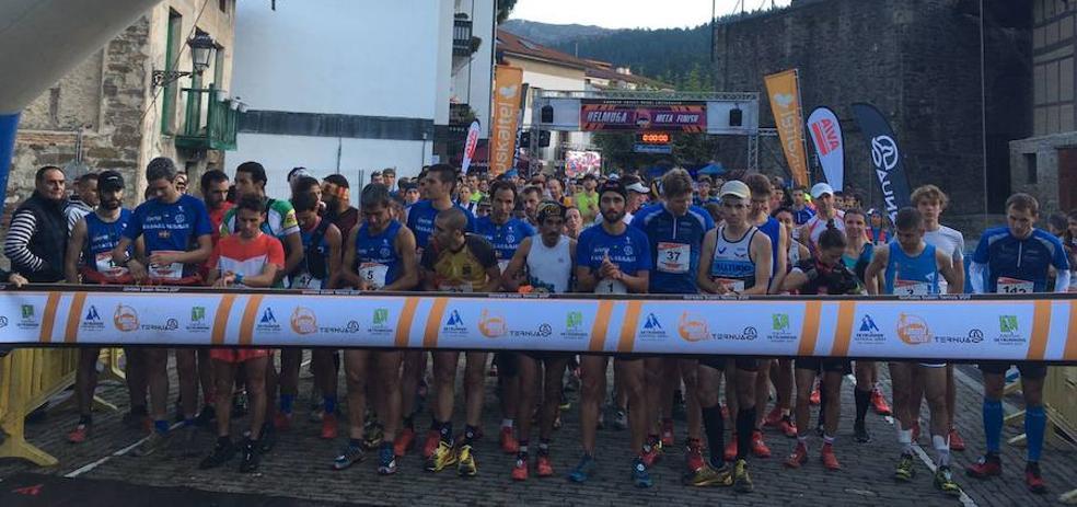 Un millar de atletas toman Zeanuri en la sexta edición de la Gorbeia Suzien
