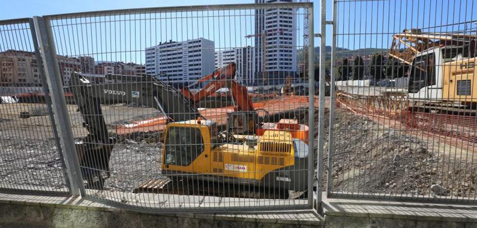 Arranca la excavación de la nueva Termibus subterránea de Bilbao