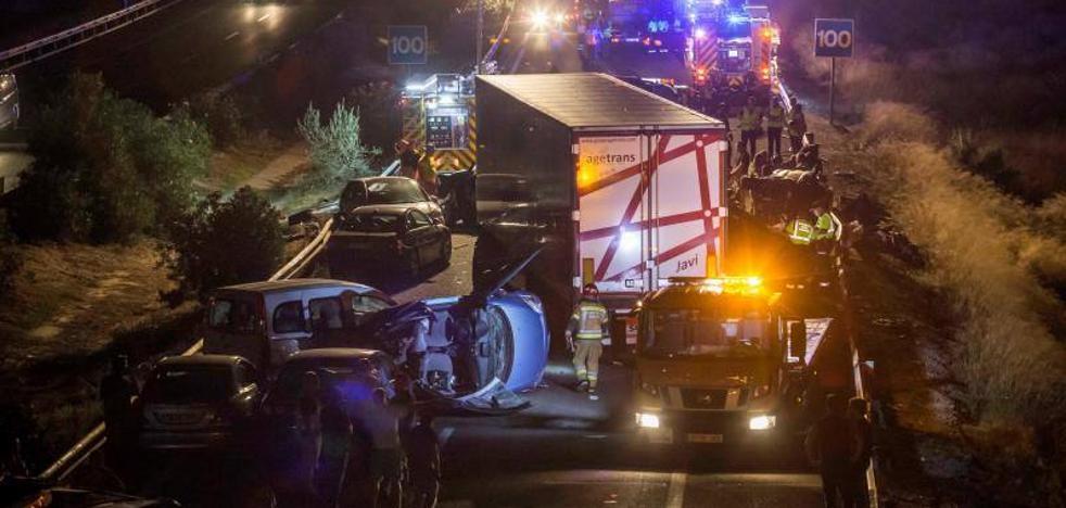 Detenido el camionero implicado en el accidente con cinco muertos en Murcia