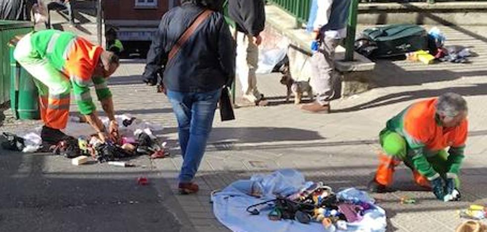 El PP denuncia el «desmadre» del mercadillo de Santutxu