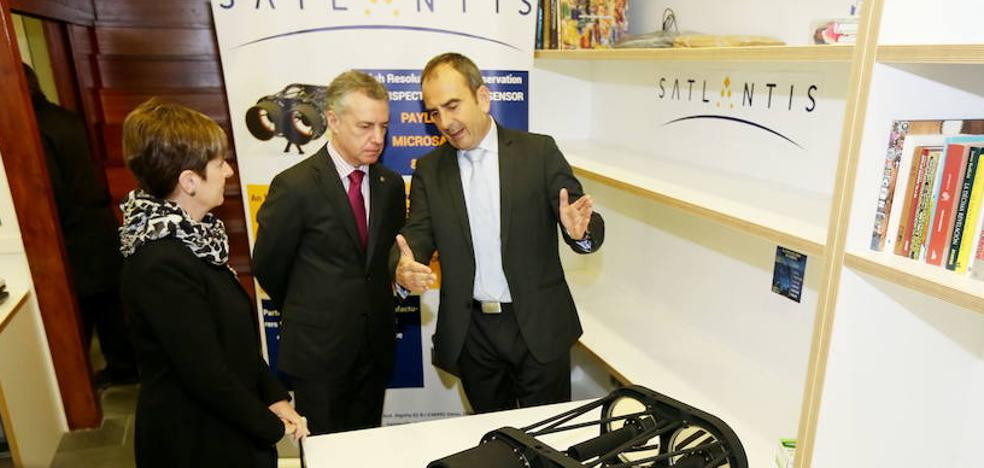 La getxotarra Satlantis, premiada como mejor nueva empresa europea del sector aeronáutico