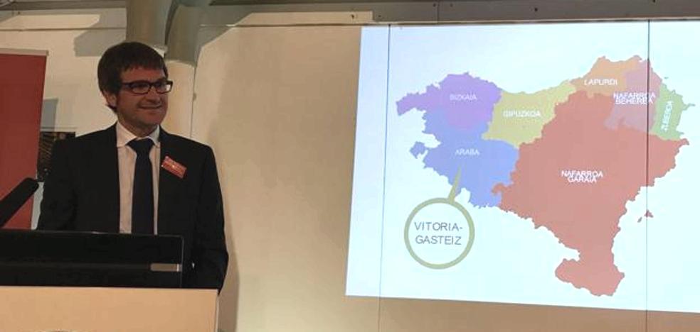 El PP censura a Urtaran por mostrar un mapa de Euskal Herria en Belfast