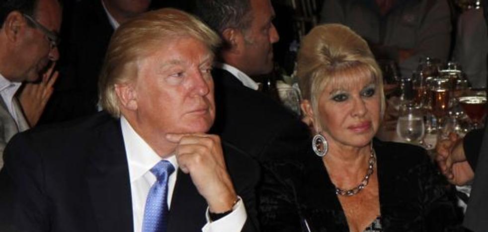 Ivana Trump quiere su parte del pastel como la ex del presidente