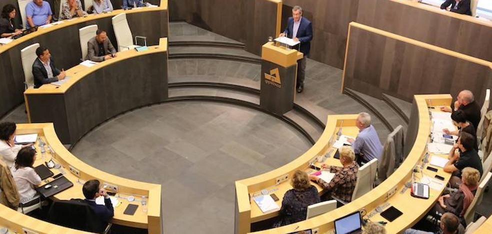 El PNV y EHBildu reconocen la independencia de Cataluña en las Juntas de Gipuzkoa