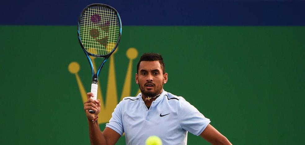 La ATP vuelve a multar a Kyrgios por su comportamiento antideportivo