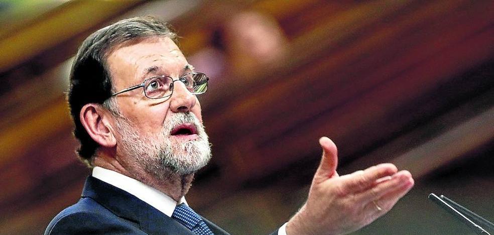 Rajoy da una semana a Puigdemont para frenar la aplicación del artículo 155