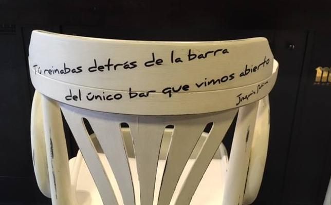 Qué 'cante' de sillas en bilbao