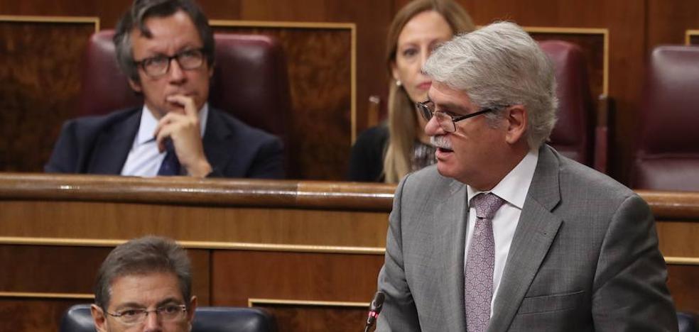 El ministro Dastis cree que Puigdemont no declaró la independencia de Cataluña