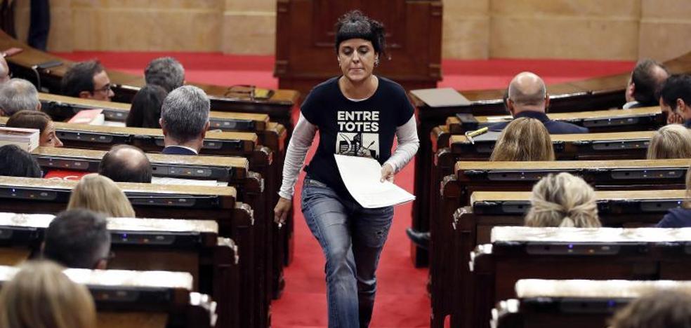 La CUP exige por carta a Puigdemont que proclame ya la independencia
