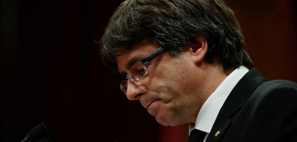 Puigdemont baraja una respuesta ambigua a Rajoy