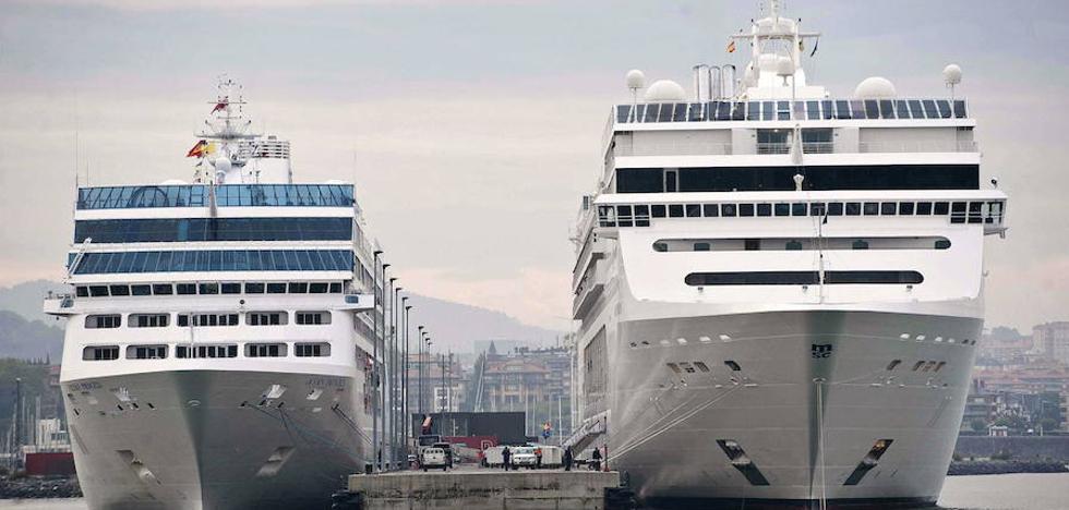 La terminal de cruceros de Getxo volverá a ser el domingo un parque temático sobre el Puerto de Bilbao