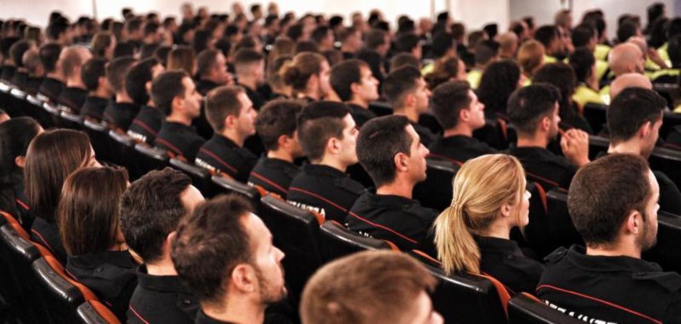 Comienza en Arkaute el curso de formación de la 26ª promoción de la Ertzaintza