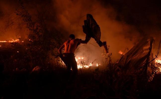 Los incendios, en primera persona