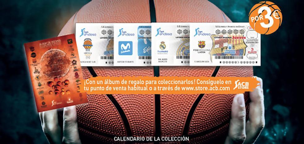 Los equipos de la Liga Endesa, en los décimos de Lotería