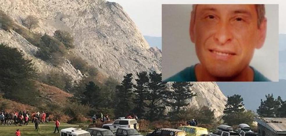 Encuentran en el Anboto el cuerpo del montañero de Arrasate desaparecido