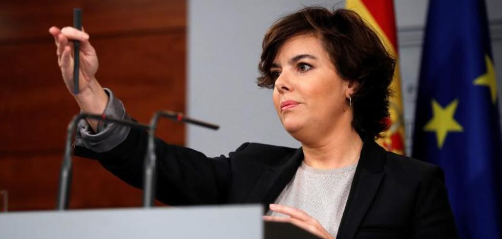 Rajoy recuerda a Puigdemont que puede rectificar antes del jueves y evitar el 155