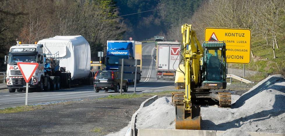 La mejora de la red foral de carreteras absorberá 58 millones hasta 2019