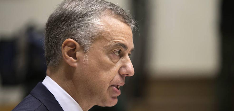 Urkullu cree que encarcelar a los líderes soberanistas complica la solución