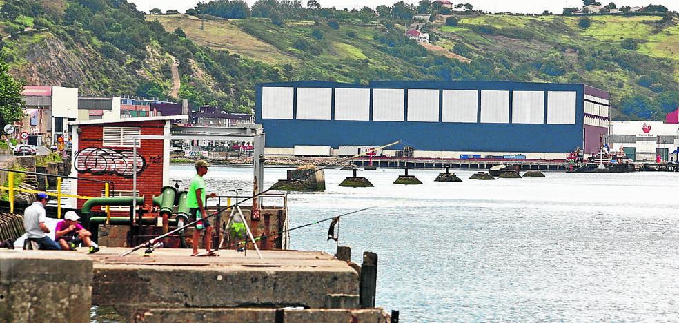 El Puerto rellenará la dársena de Udondo para crear una explanada y un muelle