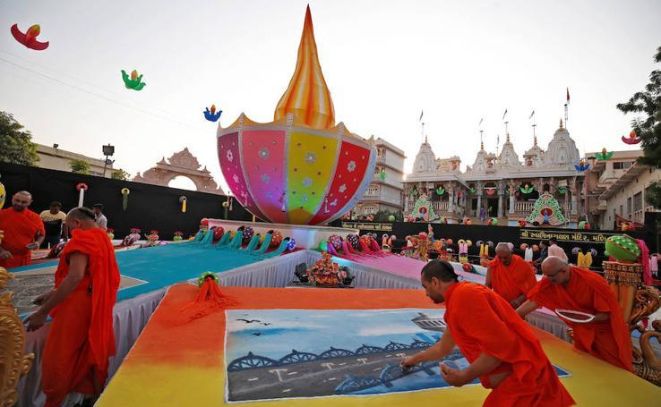 India se prepara para su fiesta más importante