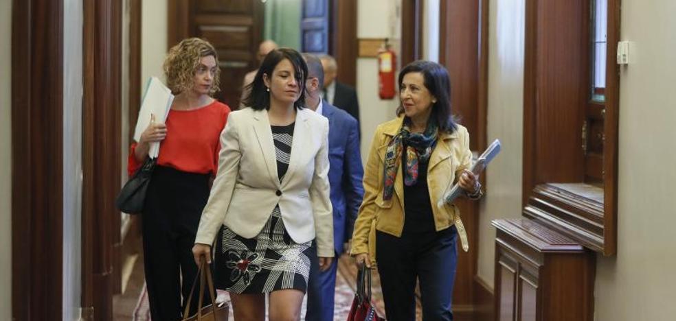 El PSOE retira la reprobación a la vicepresidenta porque «no es una prioridad»