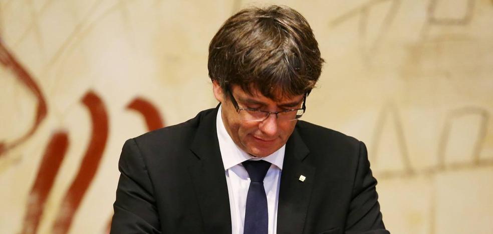 Puigdemont: «Tristemente, tenemos presos políticos de nuevo»