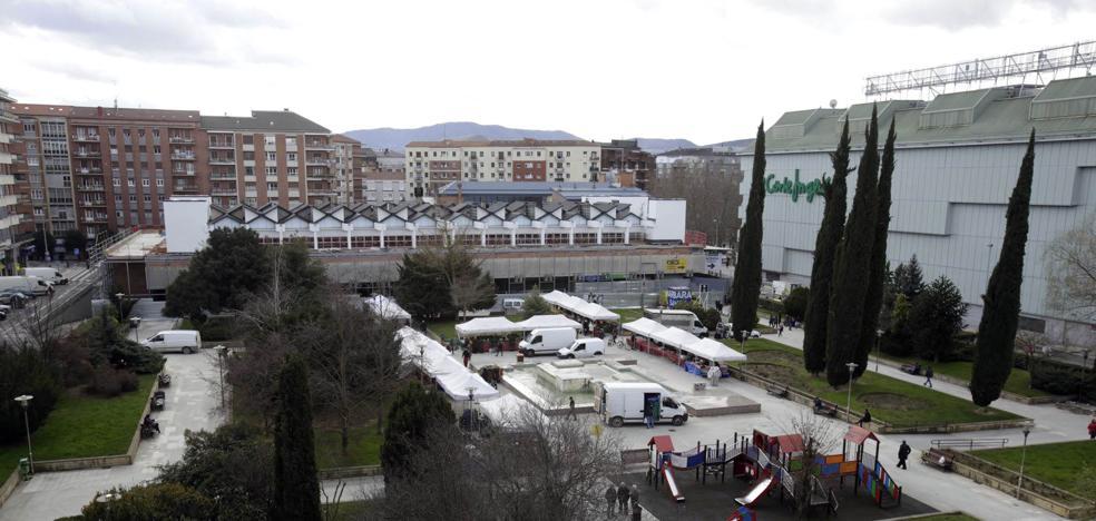 La reforma de la plaza de Santa Bárbara arrancará la semana que viene