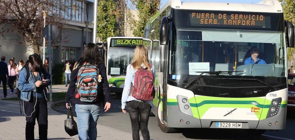 22 líneas de Bizkaibus unen 47 municipios vizcaínos con la UPV