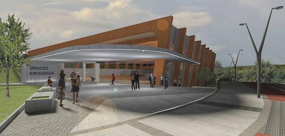 La construcción del polideportivo arrancará en 2018 bajo las críticas de la oposición zornotzarra