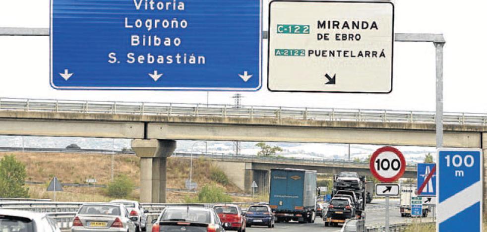 Las Juntas de Álava piden que la autopista Burgos-Armiñón sea «pública y gratuita»