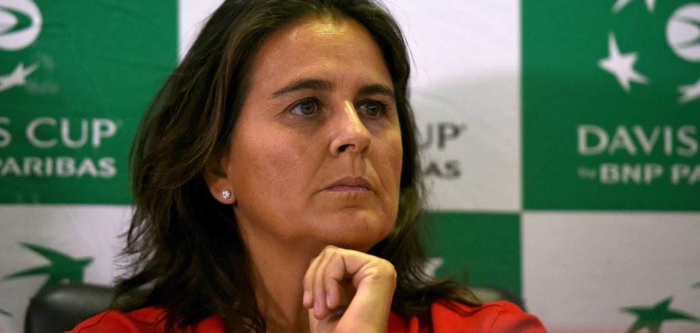 Conchita Martínez: «En la Federación hay mucha política»