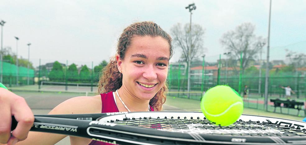 Irati Urbaneja, campeona de Euskadi: «El tenis me enganchó de inmediato»