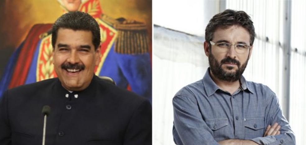 Maduro acepta una entrevista con Jordi Évole en 'Salvados': «Lo veo todos los domingos»